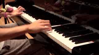 グランドピアノで東方の曲をメドレーにして弾いてみた2019