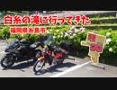 【Ninja1000】白糸の滝に行ってきた【クロスカブ】
