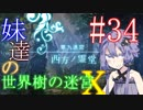 【世界樹の迷宮X】妹達の世界樹の迷宮X #34【VOICEROID実況】