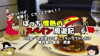 【ゆっくり】スペイン周遊記 6 ANAファーストクラスでカツドゥーンを食べる