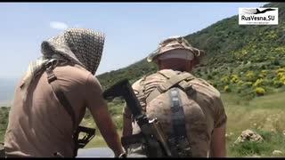 シリア内戦 ロシア系民間軍事会社オペレーターによる偵察行動