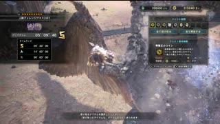 [MHW] 上級チャレンジクエスト01 双剣 ソロS [PC版]