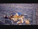 【リョナ】ソウルキャリバー6 カサンドラをスケルトンでリョナ(ザサラメール流派)