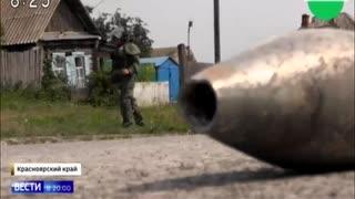 大爆発を起こした弾薬庫近隣に飛び散った爆弾を軍が処理...住民帰宅で...