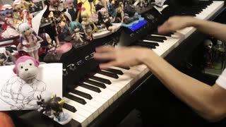 【ピアノ】「お願いマッスル」を弾いてみた【ダンベル何キロ持てる? OP】