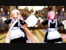 【MMD花騎士】メイド服のエノテラとハス様でおちゃめ機能