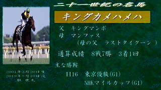 二十一世紀の名馬 キングカメハメハ