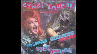 1985年06月07日 洋画 グーニーズ 主題歌 「グーニーズはグッドイナフ」(シンディ・ローパー)