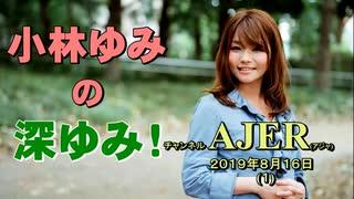 「税金で反日」(前半)小林ゆみ  AJER2019.8.16(1)