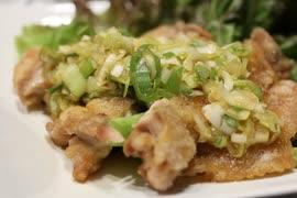【料理】簡単サクサク!油淋鶏【恍惚編】