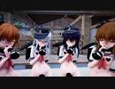 【MMD艦これ】第六駆逐隊がチョコミルクアイスをしゃぶるだけ【Ghost Dance】
