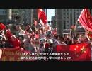 カナダの香港過激派デモ、暴力反対派が勢いで圧倒