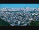 【タイムラプス】呉羽山公園展望台より望む富山の街