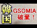 韓国GSOMIA(日韓軍事協定)破棄!自ら滅亡への道を歩む事を決定した。