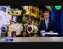 宇宙で活動する為ISSに向かう人型ロボット(ヒヨードル)を演技派通訳で...