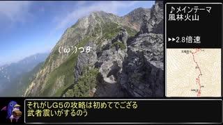 【RTA リアル登山アタック】八峰キレット 05:07:44【後編】