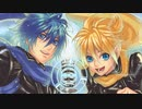 【 Ophelia singing in the rain falling down 】 KAITO · Kagamine Len