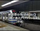 鉄道登山学 その22 「東京」地下鉄のア