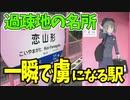 【鉄道豆知識】過疎地の無人駅がこんなにピンクなわけがない!「恋山形駅」訪問記 #18