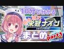 【笹木咲】10分で分かる栄冠ナインまとめ:part1【パワプロ2018】