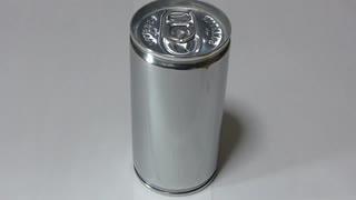 スチール缶を6時間磨いてみた