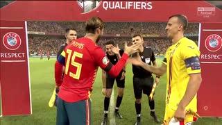 《EURO2020》 【予選:グループF】 [第5節] ルーマニア vs スペイン(2019年9月5日)