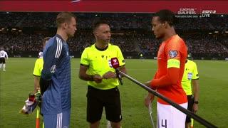 《EURO2020》 【予選:グループC】 [第5節] ドイツ vs オランダ(2019年9月6日)