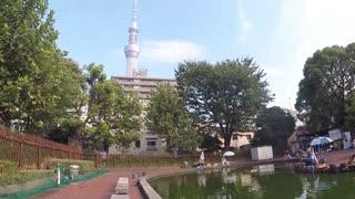 #02 フナ釣り 墨田区 隅田公園魚つり場