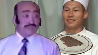 中野くんのボロ雑巾のようなステーキを食べて討死する武田信玄