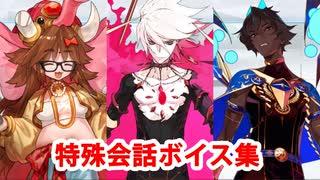 Fate/Grand Order マイルーム特殊会話ボイ