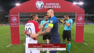 《EURO2020》 【予選:グループE】 [第5節] スロバキア vs クロアチア(2019年9月6日)