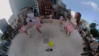 20190831 KPOP学園 K-pop Medley Dance Cover @弘大(ホンデ)  路上ライブ 360°