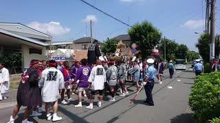 令和元年8月25日催行 大和天満宮例大祭          お神輿徒御