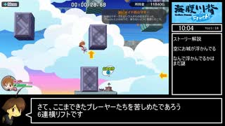 【RTA】海腹川背Fresh! Any% 38:39 Part1/2