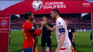 《EURO2020》 【予選:グループF】 [第6節] スペイン vs フェロー諸島(2019年9月8日)