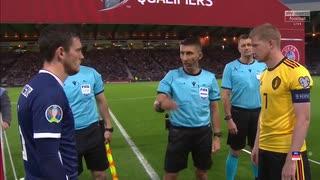 《EURO2020》 【予選:グループI】 [第6節] スコットランド vs ベルギー(2019年9月6日)
