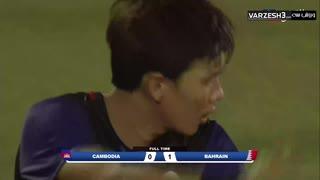 【W杯予選】カンボジアvsバーレーン戦ダイジェスト【本田監督】