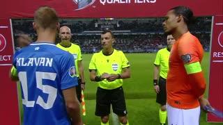《EURO2020》 【予選:グループC】 [第6節]  エストニア vs オランダ(2019年9月9日)