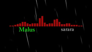 Malus/sarara feat.HATSUNE MKU
