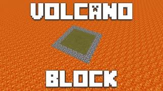 火山の中で生きる【VolcanoBlock】