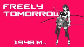【MMD艦これすげぇ】 ゴリマ式赤城改二 『FREELY TOMORROW』(歓声)【新モデル】