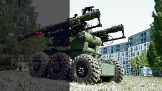 無人携帯式防空ミサイルシステム車両「ASBOP-Perkun」
