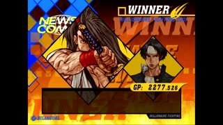 【TAS】 CAPCOM VS. SNK 2【覇王丸 & 草薙