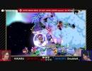 「スマッシュボール杯 スマブラSP 東日本リーグ」第2期 3rdラウンド [第4試合] HIKARU vs DoubleA ③