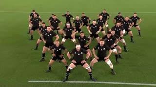 【ラグビーワールドカップ2019】ニュージーランド代表 ハカ 対南アフリカ - カパオパンゴ