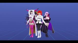 【Fate/MMD】URUSaaA愛【ぐだ子・キアラ・BB】