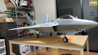 F22 Raptor freewing 90mm EDF