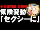 小泉進次郎環境相、気候変動対策「セクシーに」発言が物議