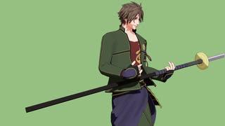 【MMD刀剣乱舞】メーベル【御手杵/槍舞】