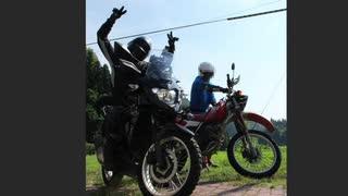 道を外れたバイクの苦悩【ダートどこにもないねけよ】
